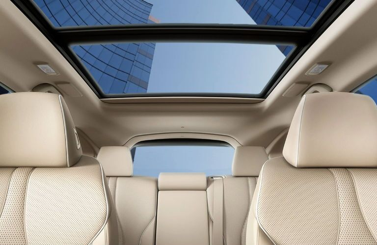 2020 Acura RDX seating and sunroof