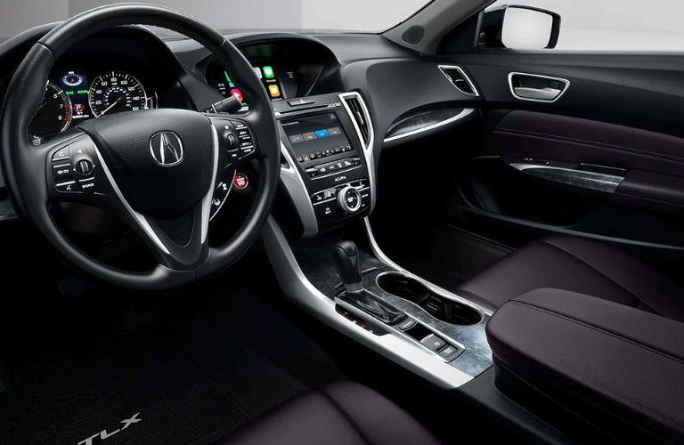 2020 Acura TLX dashboard