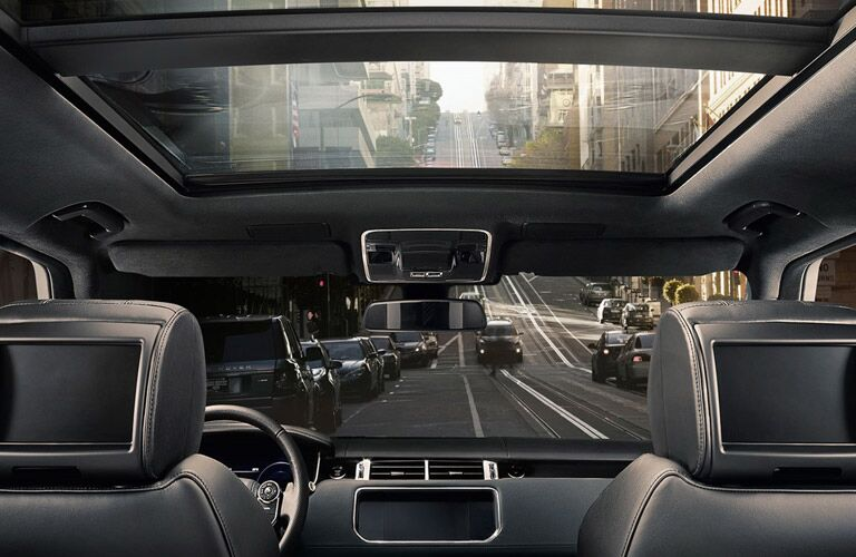 2016 range rover sport interior panoramic sunroof rear seats