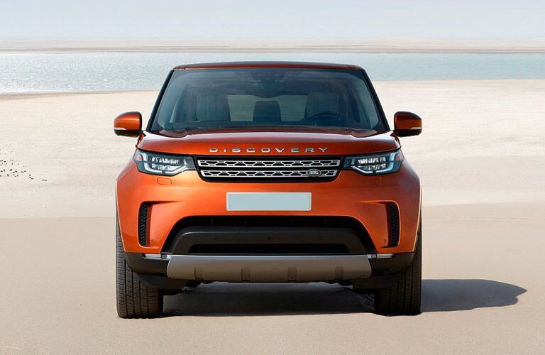 2017 land rover discovery front headlights grille