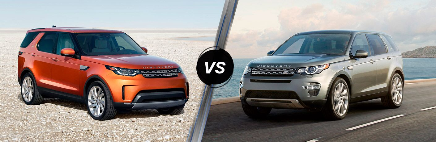 2017 Land Rover Discovery vs 2017 Land Rover Discovery Sport