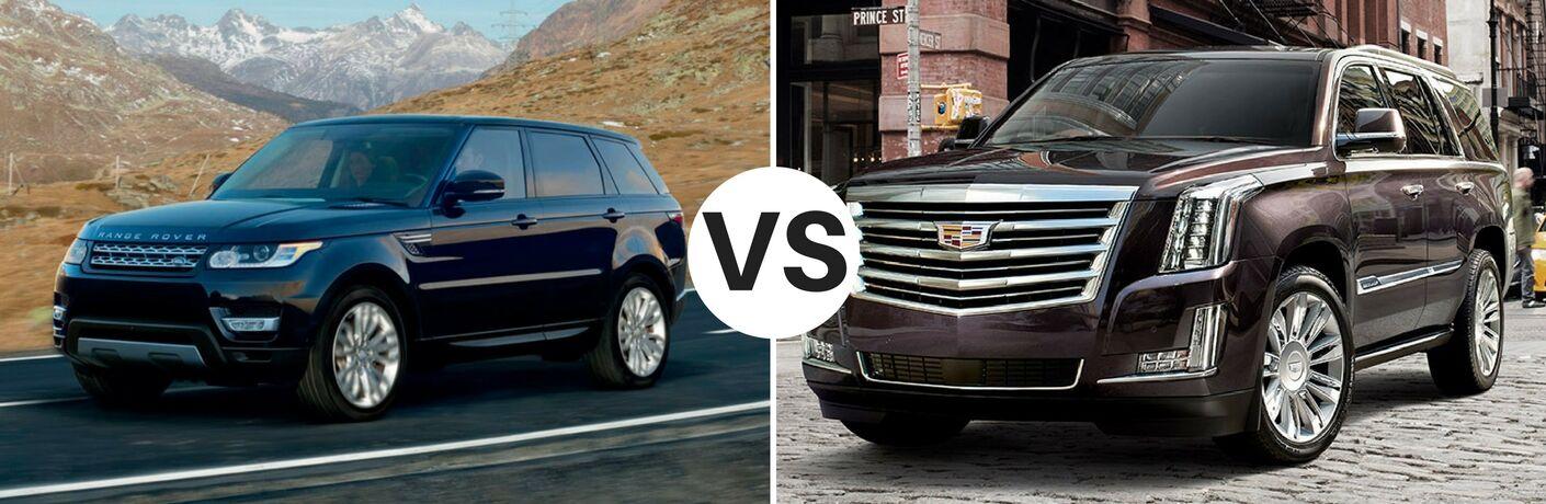 2017 Land Rover Range Rover vs 2017 Cadillac Escalade