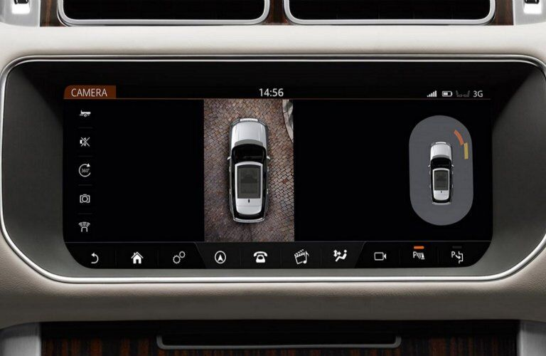 2017 Land Rover Range Rover surround view camera