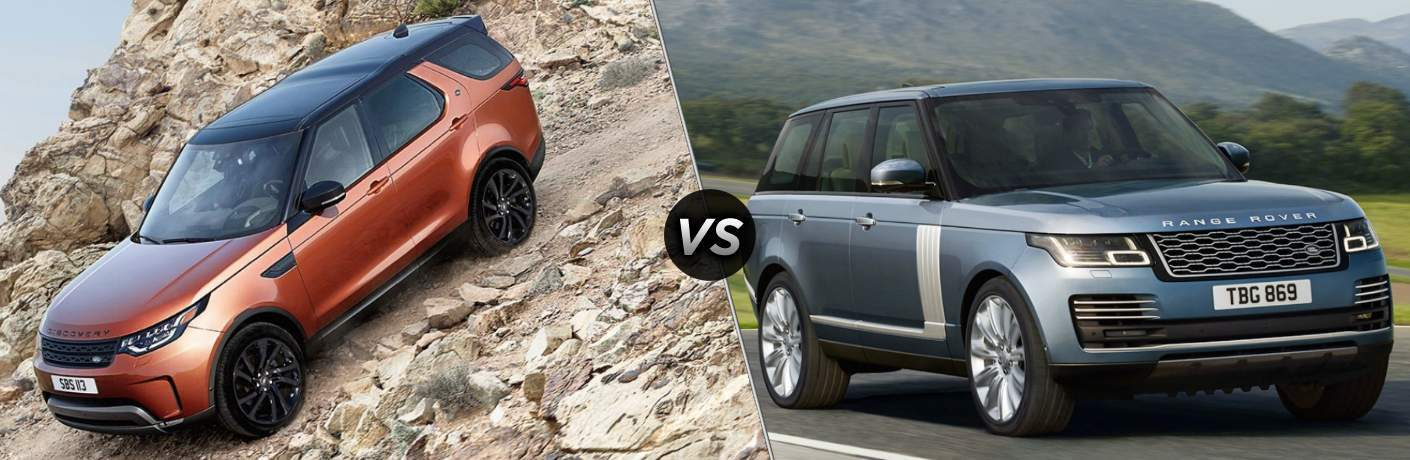 2018 Land Rover Discovery vs 2018 Land Rover Range Rover