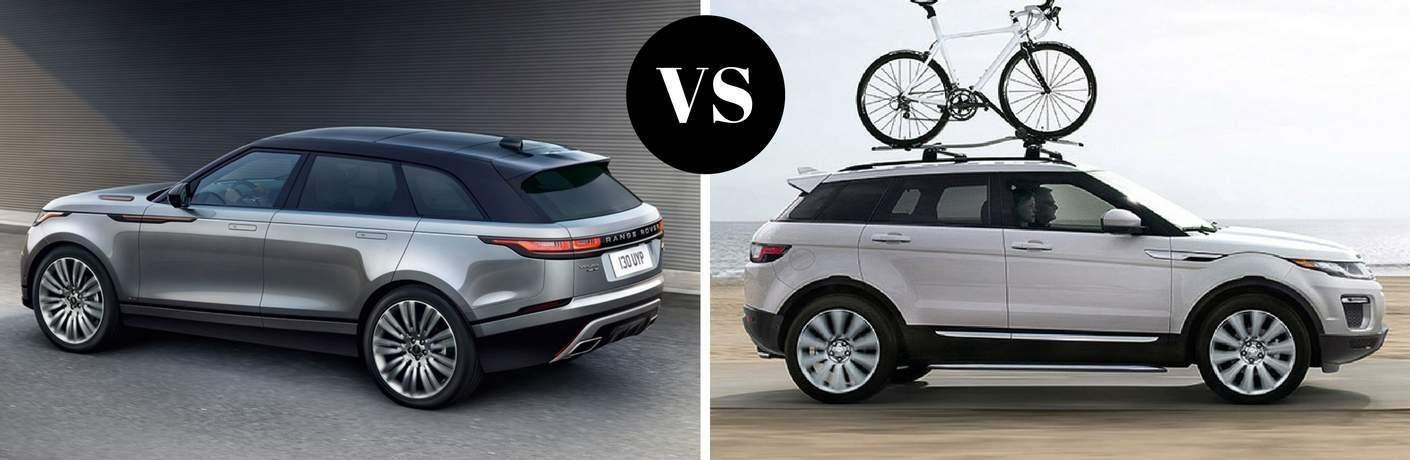 2018 Range Rover Velar vs 2017 Range Rover Evoque