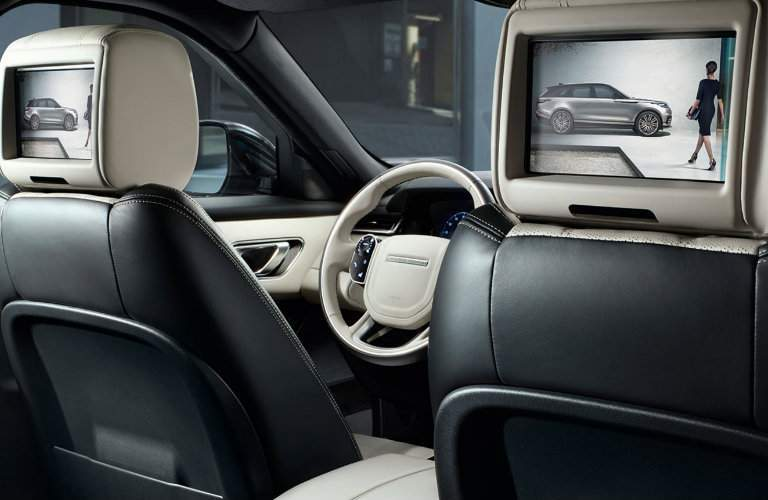 2018 Range Rover Velar Rear Entertainment Screens