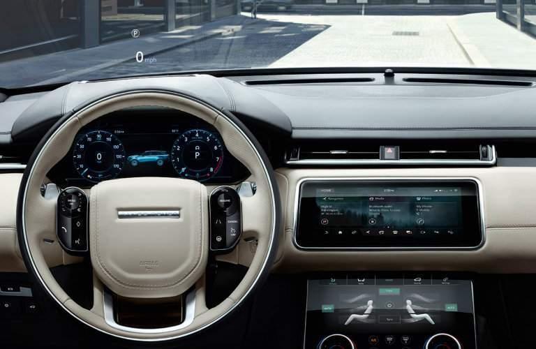2018 Range Rover Velar Driver Information Center