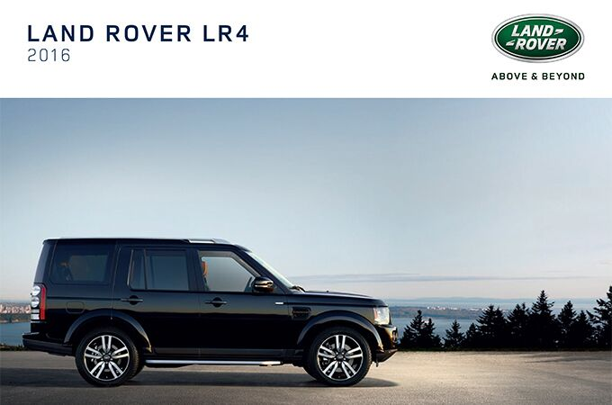 New Land Rover LR4 near Milford