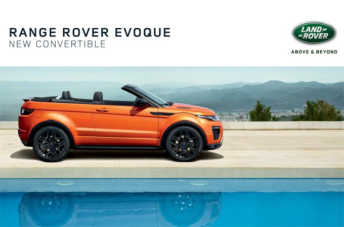 New Land Rover Range Rover Evoque Convertible near Milford