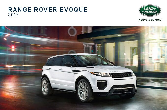 New Land Rover Range Rover Evoque near Milford