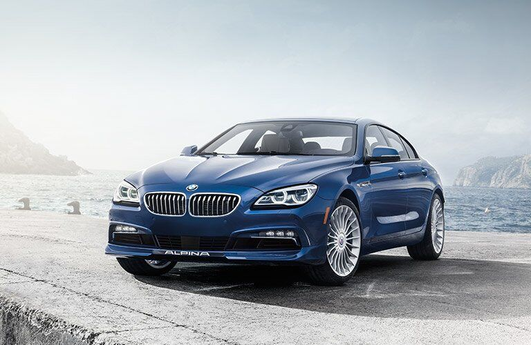 2017 BMW 6 Series front grille