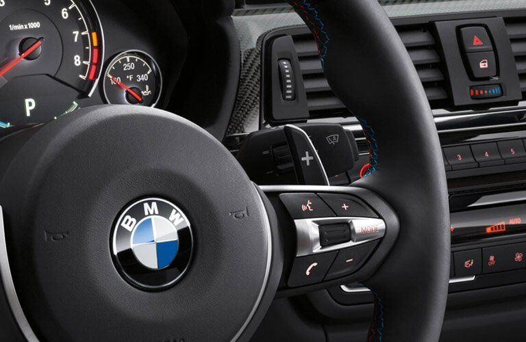 2017 BMW M4 dashboard