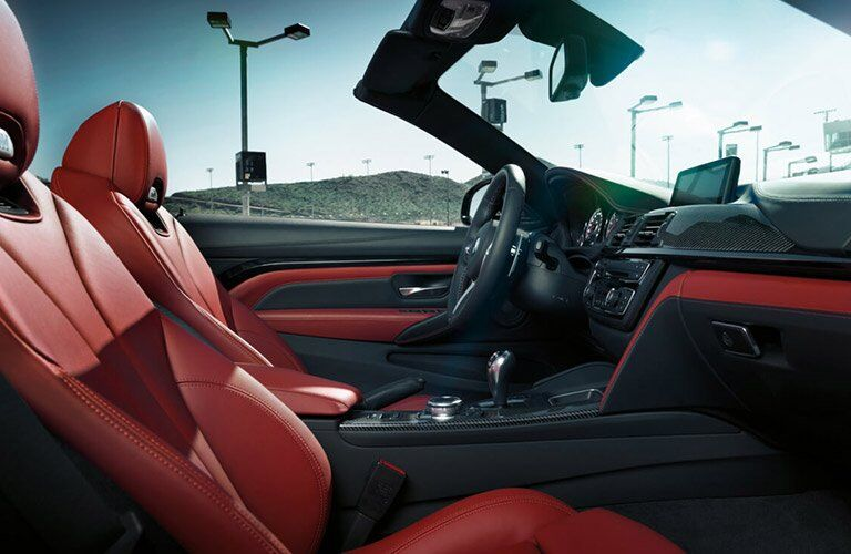 2017 BMW M4 seating