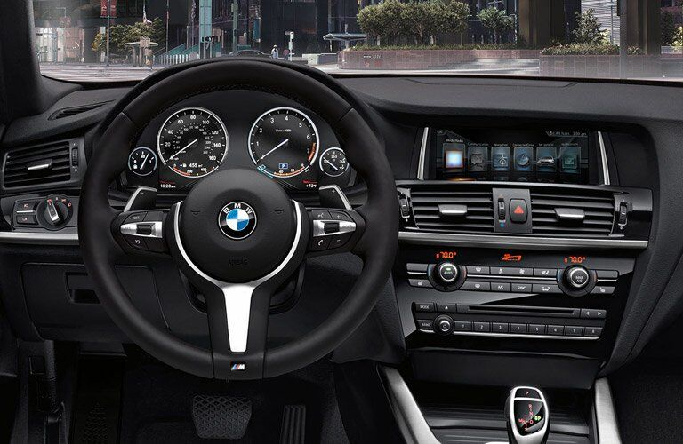 2017 BMW X4 dashboard