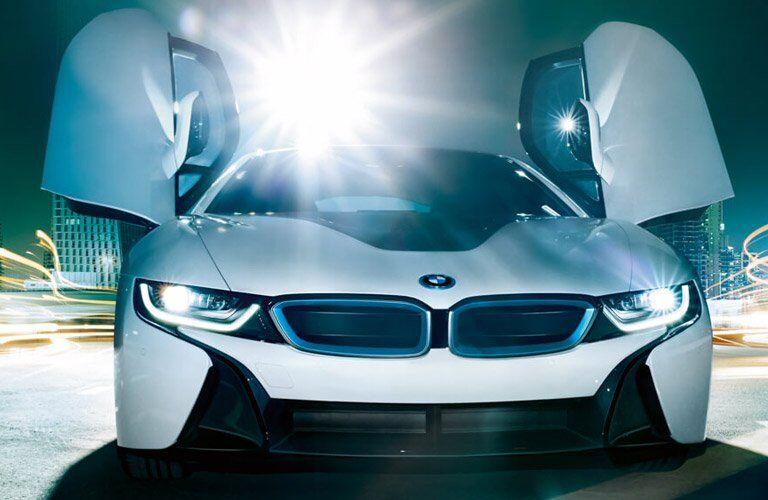 2017 BMW i8 doors