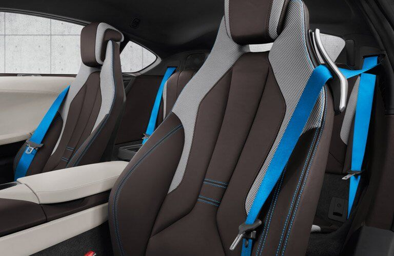 2017 BMW i8 seating