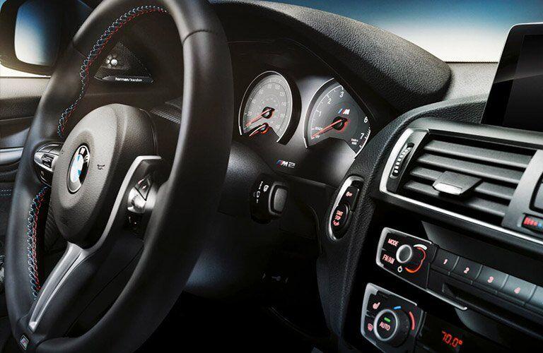 2017 BMW M2 dashboard