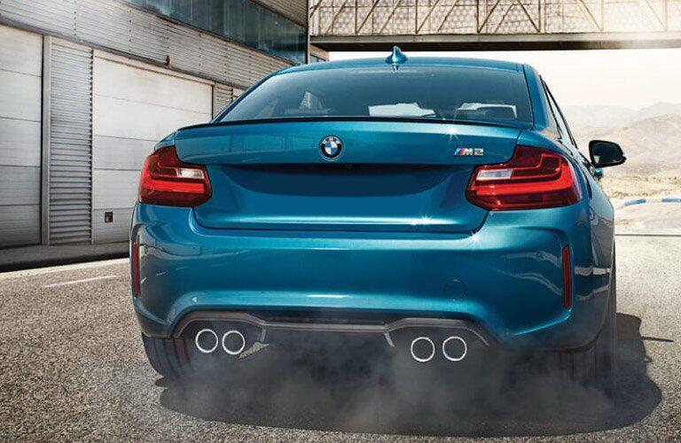 2017 BMW M2 quad exhaust