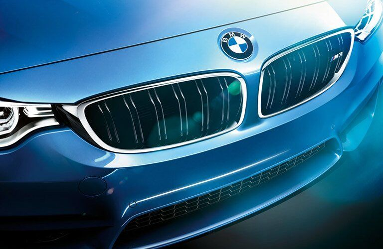 2017 BMW M3 front grille