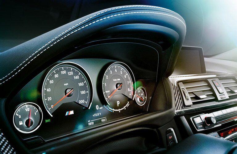 2017 BMW M3 dashboard