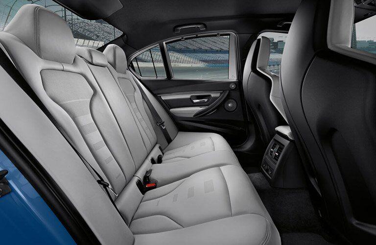 2017 BMW M3 rear seat
