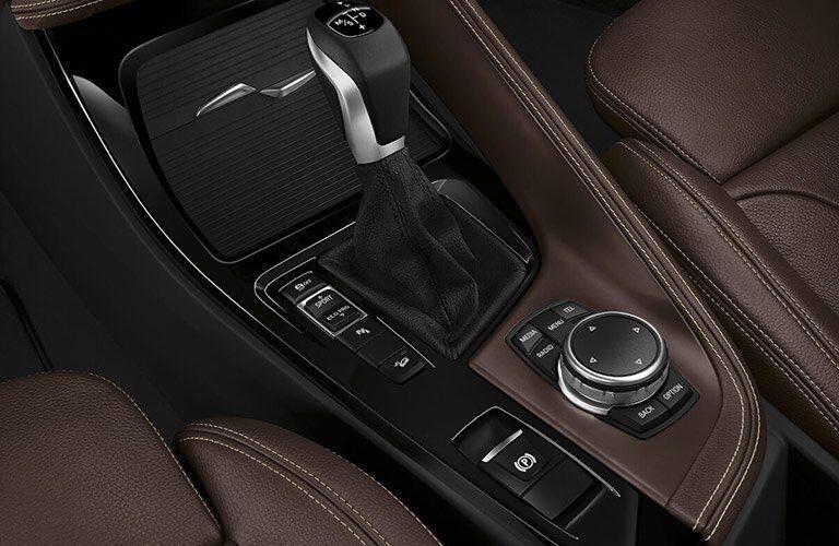 2017 BMW X1 gear controls