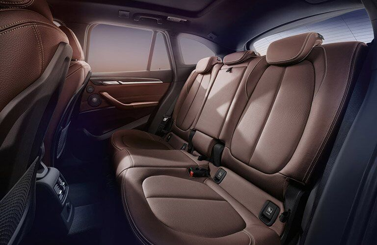 2017 BMW X1 rear seat