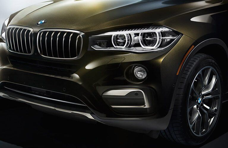 2017 BMW X6 front grille