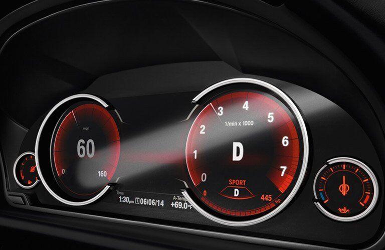 2017 BMW X6 odometer