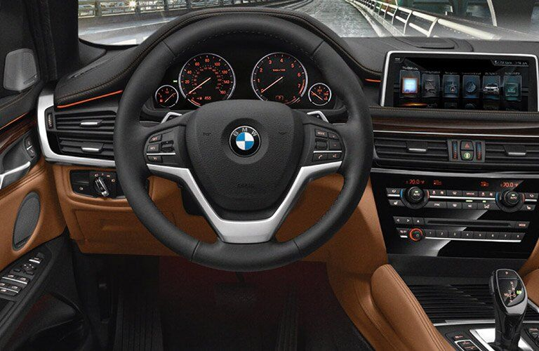 2017 BMW X6 dashboard
