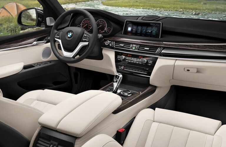 2017 BMW X5 dashboard
