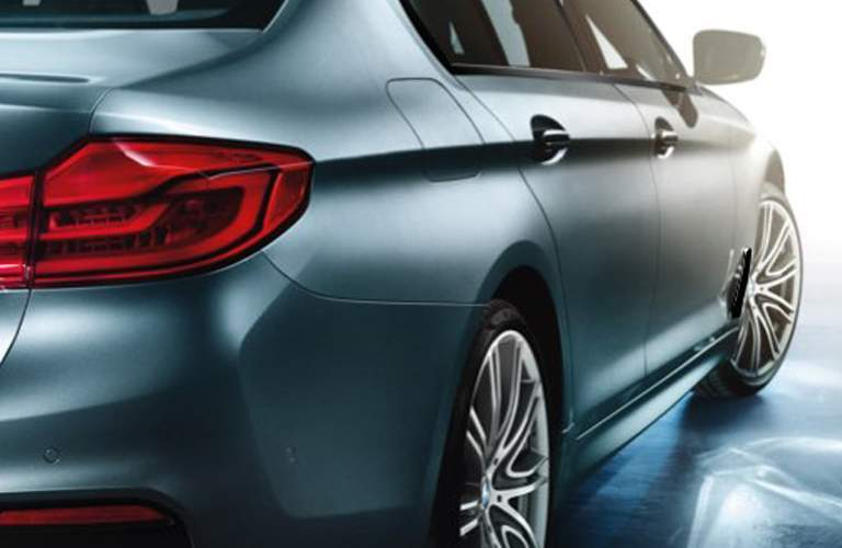 2018 BMW 5 Series Light Blue Exterior