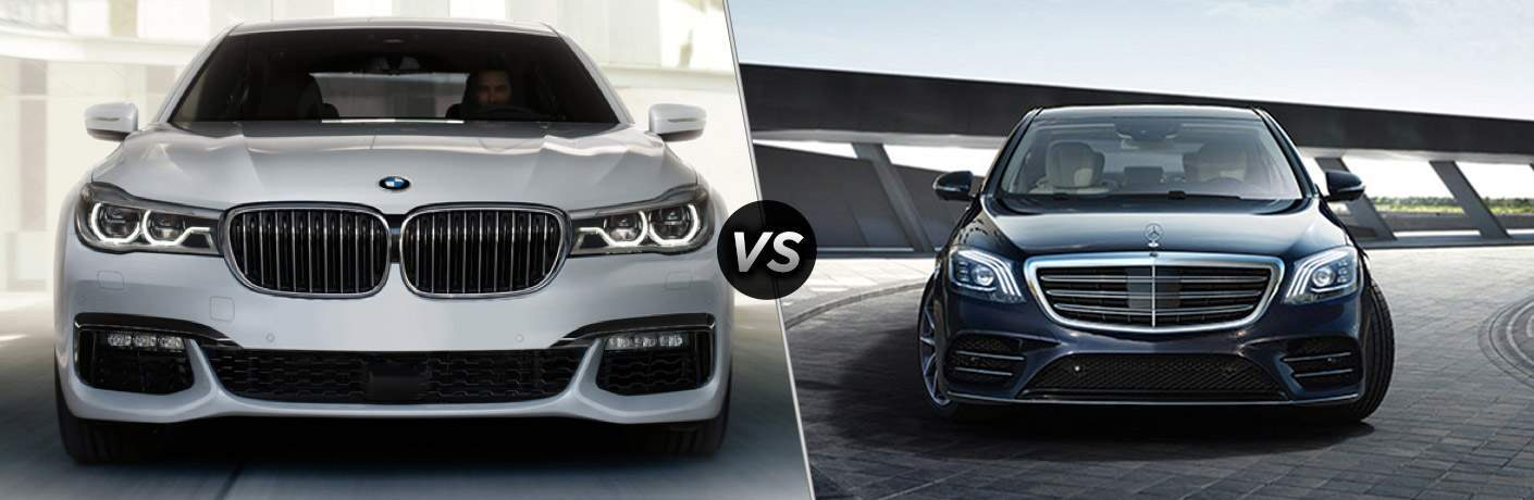 2018 Bmw 7 Series Vs 2018 Mercedes Benz S Class