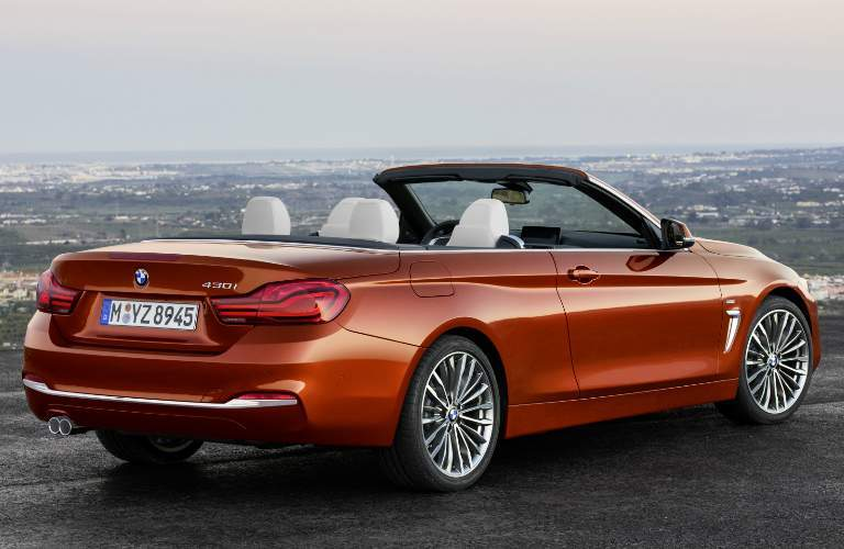 2018 BMW 4 Series Glendale CA Convertible Design Features