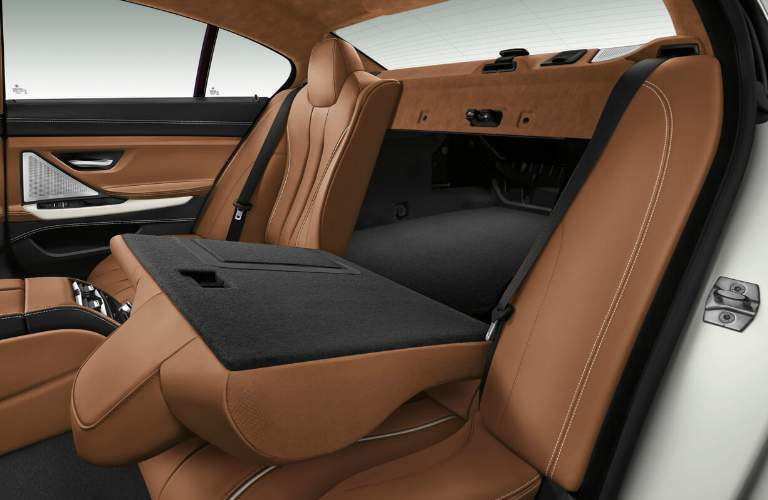 2018 BMW 6 Series Rear Seats