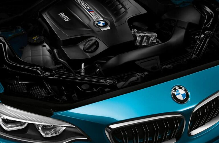 TwinScroll Turbo 3.0-liter V6 Engine in 2018 BMW M2