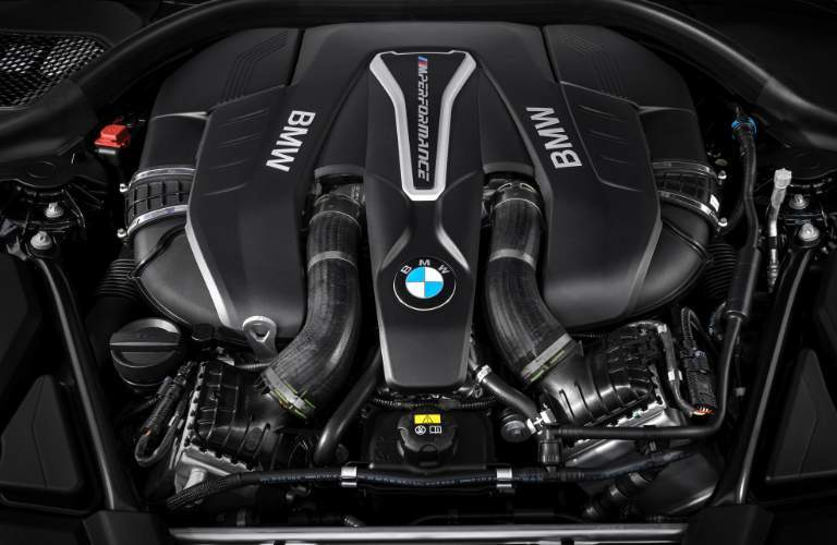 2018 BMW M550i xDrive Glendale CA Engine
