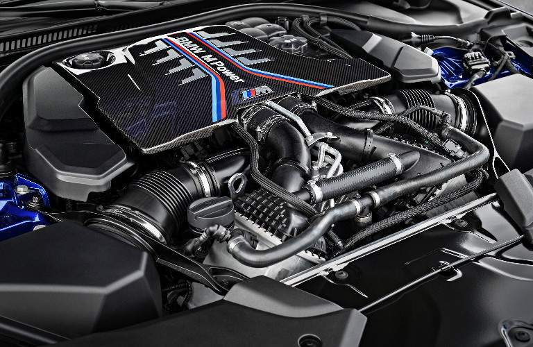 TwinPower Turbo Engine of 2018 BMW M5