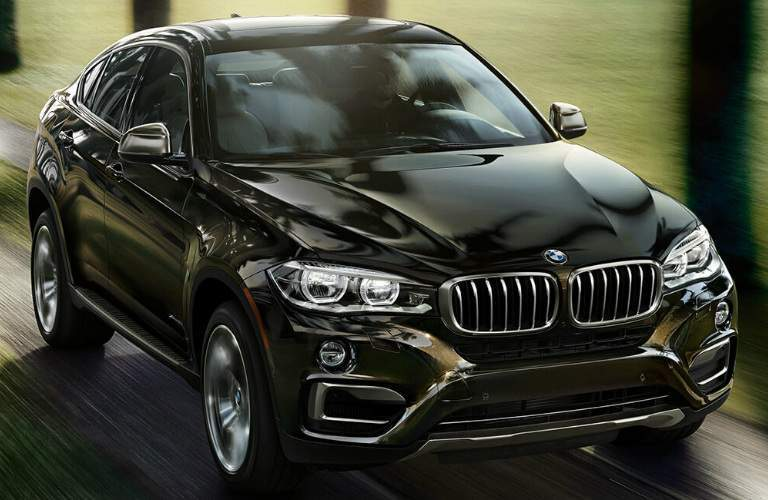 Front View of Brown 2018 BMW X6