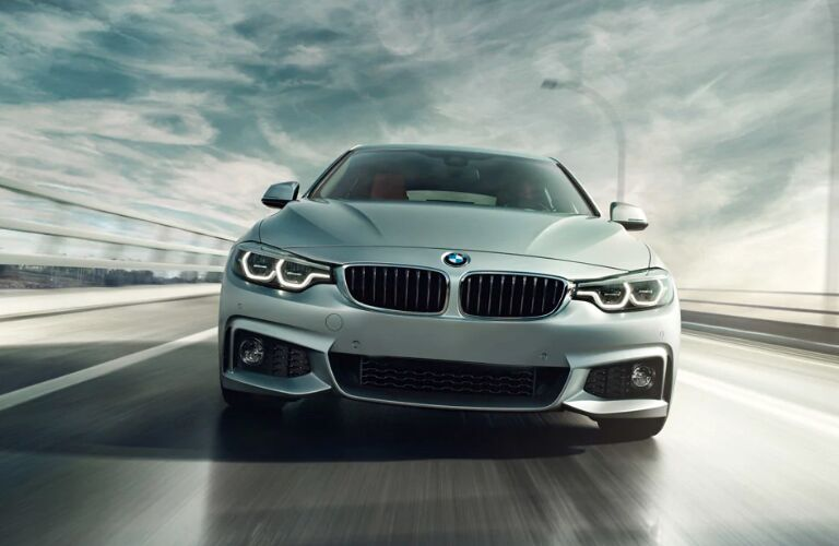 Front view of grey 2019 BMW 4 Series