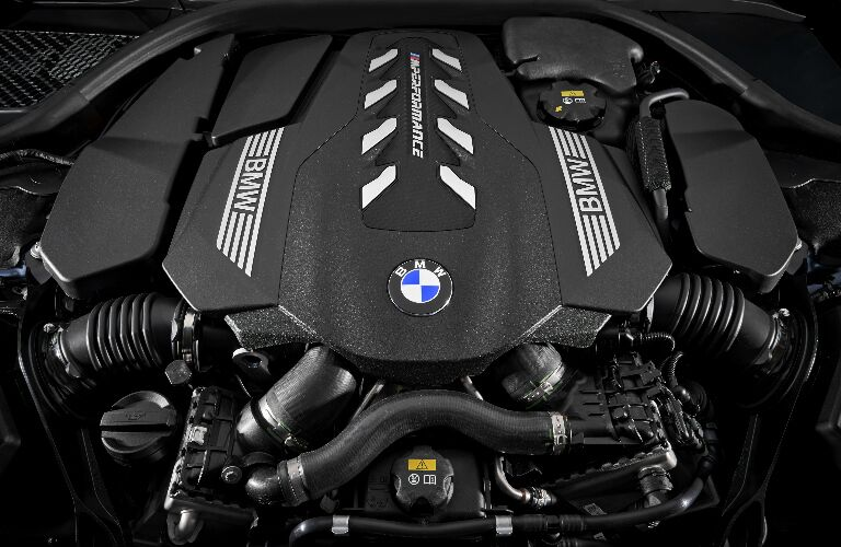 BMW 4.4-liter TwinPower Turbo V8 Engine in 2019 BMW 8 Series Coupe