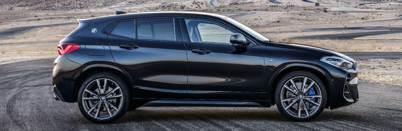 Side View of Black 2019 BMW X2 M35i