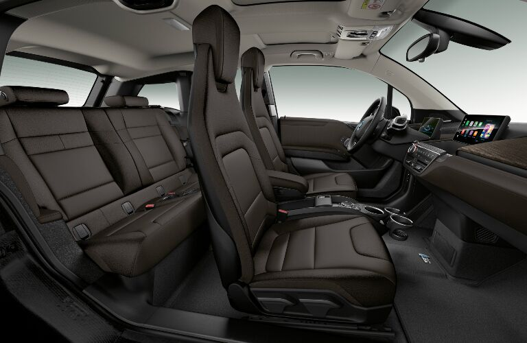 Dark Brown Seats in 2019 BMW i3