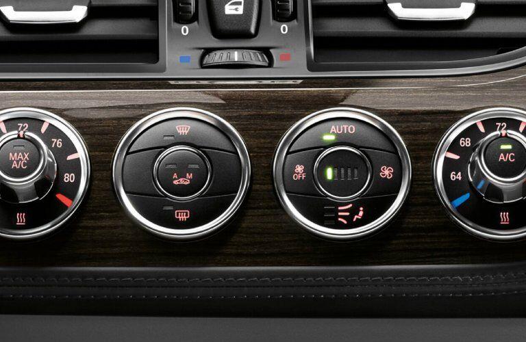 2017 BMW Z4 buttons