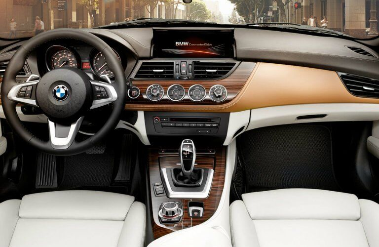2017 BMW Z4 dashboard