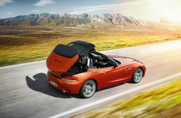 2017 BMW Z4 hardtop