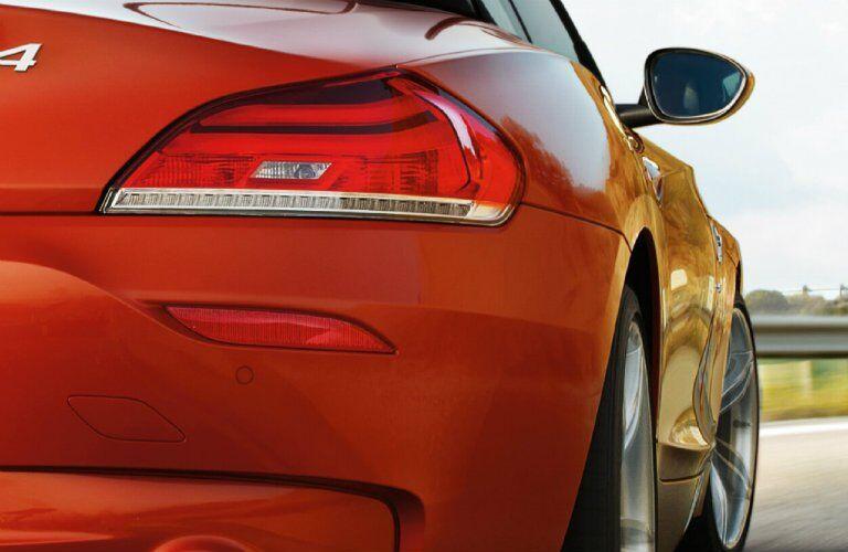 2017 BMW Z4 taillights