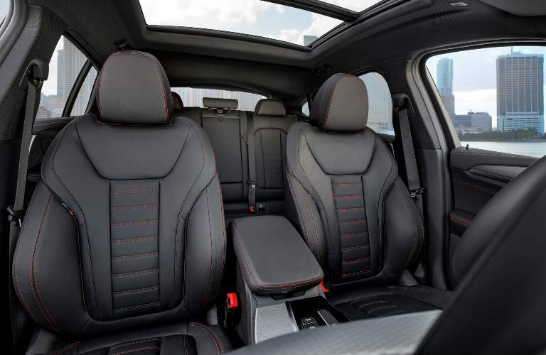 Black Seats of 2019 BMW X4