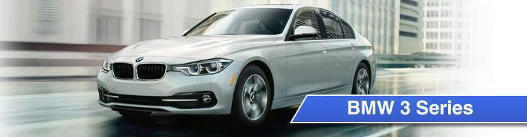 BMW 3 Series Title and White 2017 BMW 3 Series