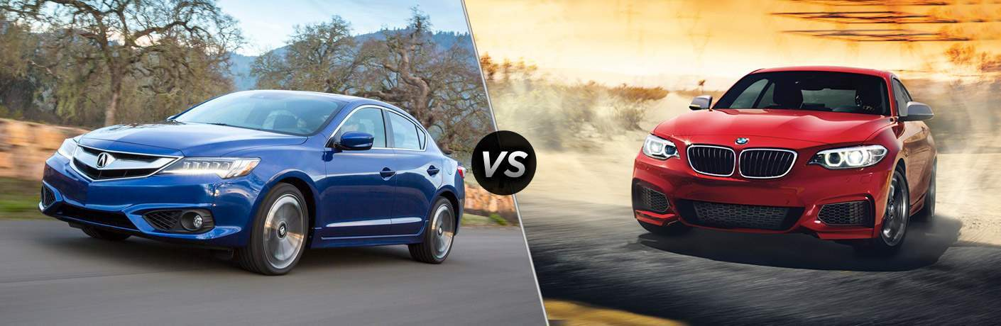 2017 Acura ILX vs. 2017 BMW 2 Series